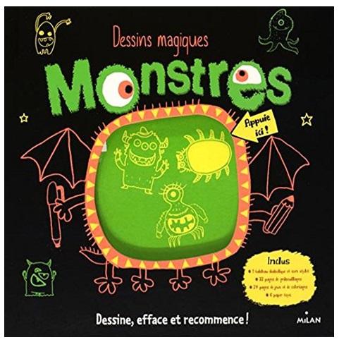 Dessins magiques monstres - Dessins monstres ...